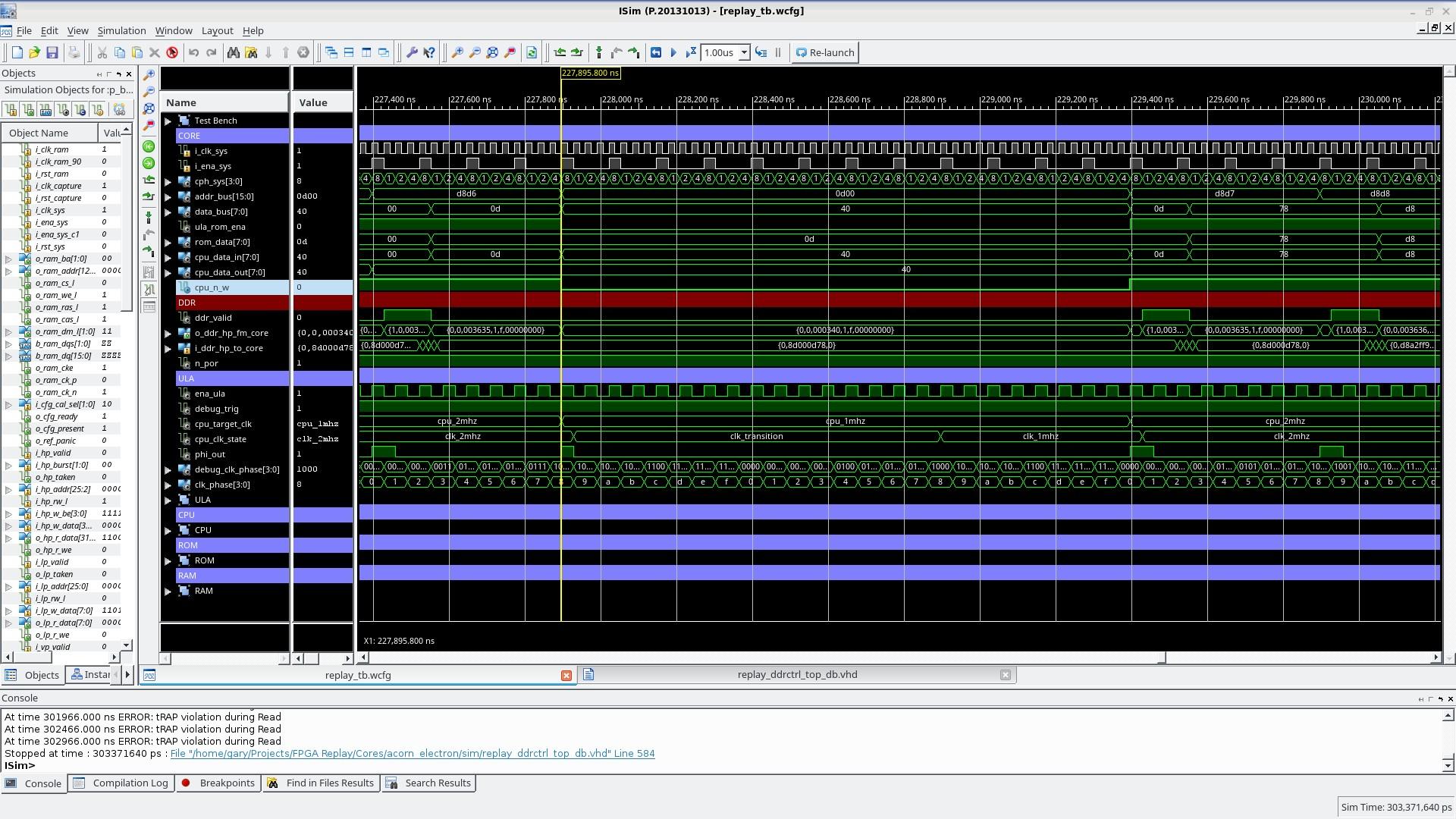 2->1MHz RAM Write