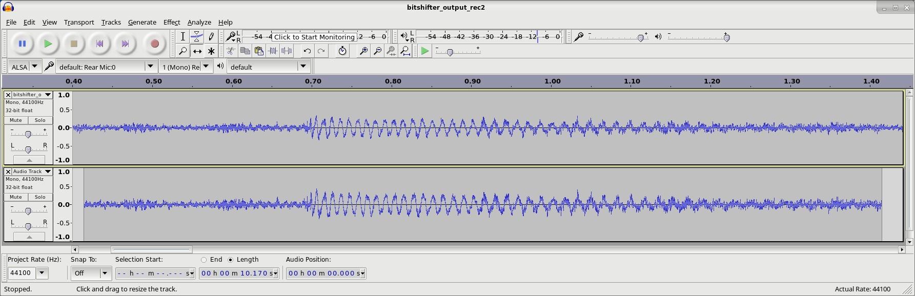 FPGA based 1-bit DAC : www mups co uk
