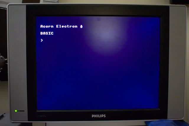 Acorn Electron Boot Prompt