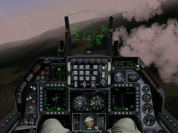 F16 Inflight