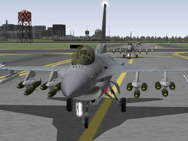 F16 Taxi