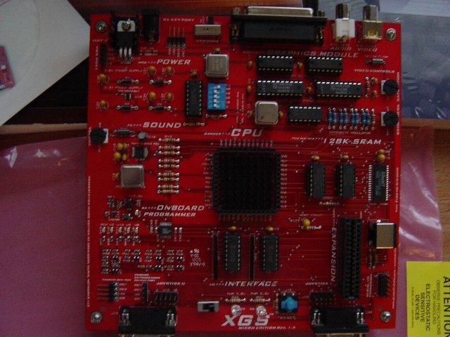 XGS motherboard